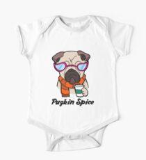 Pugkin Spice One Piece - Short Sleeve