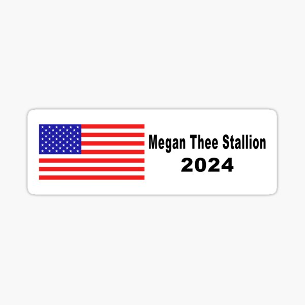 Megan Thee Stallion 2024 Bumper Sticker Sticker