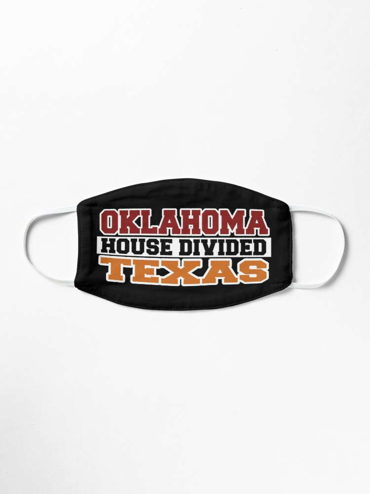 Alternate view of Oklahoma House Divided Texas Mask