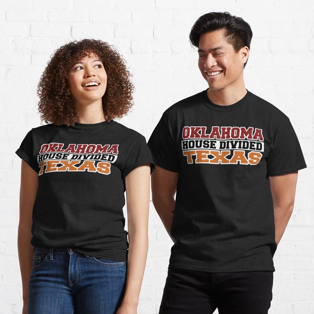 Oklahoma House Divided Texas Classic T-Shirt
