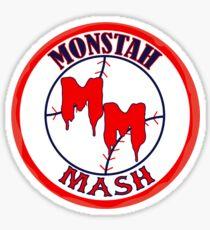Monstah Mash goes Red Sox Sticker