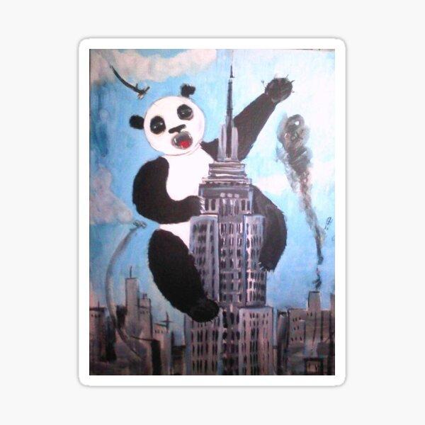 Panda Kong Sticker