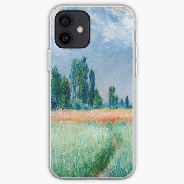Claude Monet - The Wheat Field iPhone Soft Case