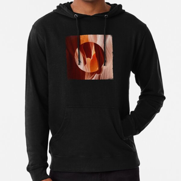 Red Sand Polyscape Lightweight Hoodie