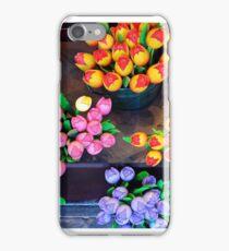Artifical tulips iPhone Case/Skin
