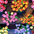 Artifical tulips by Arie Koene