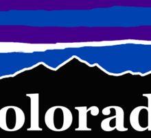Colorado Midnight Mountains Sticker