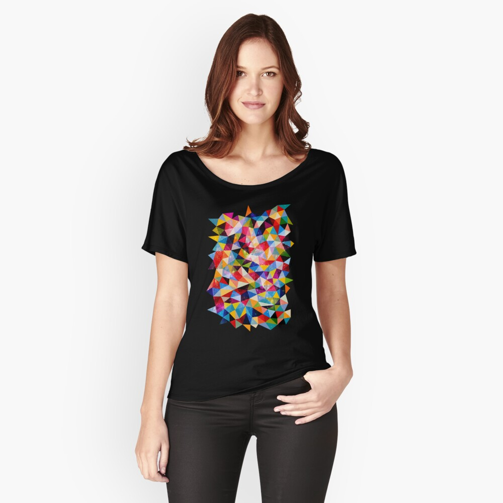 Space Shapes Relaxed Fit T-Shirt