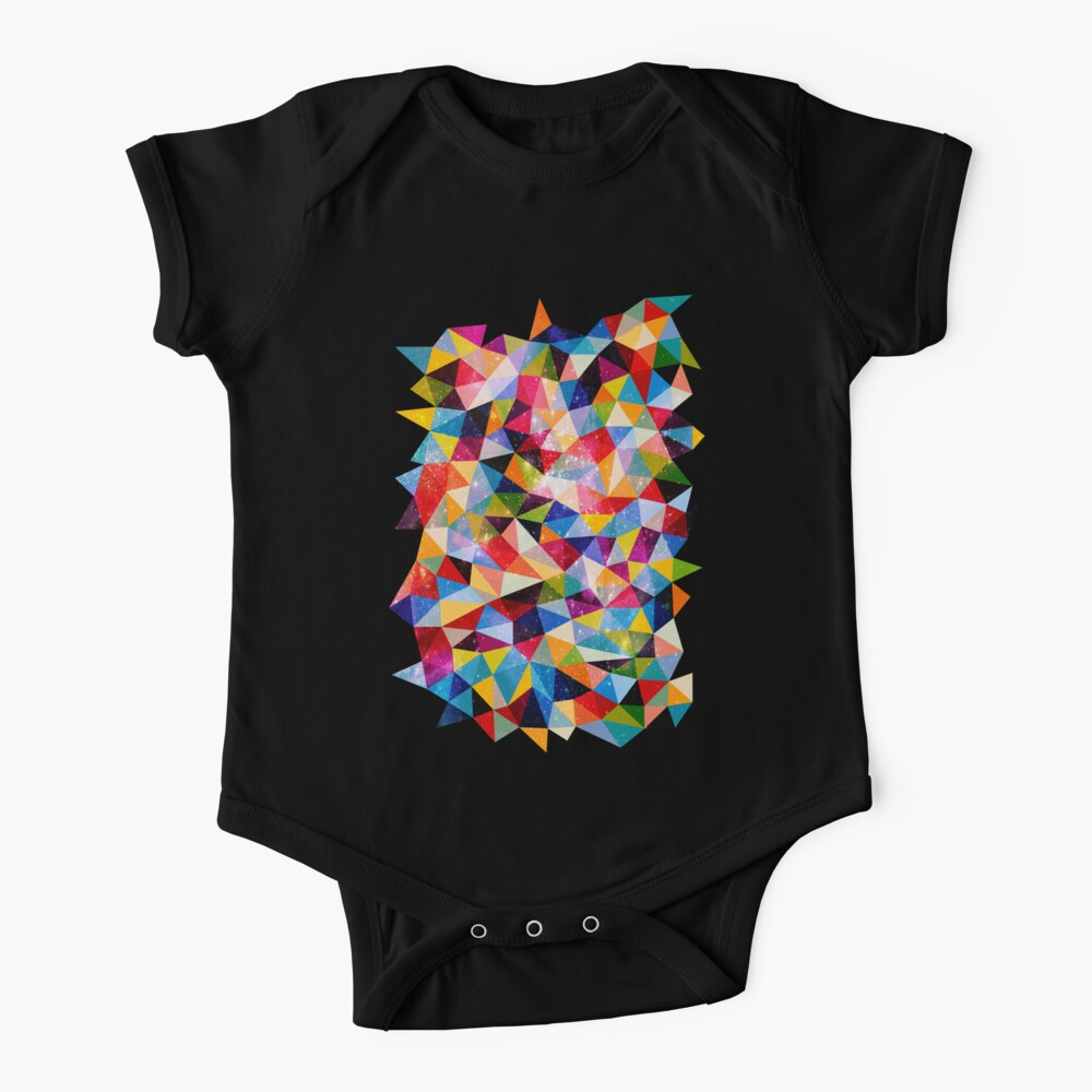 Space Shapes Baby One-Piece