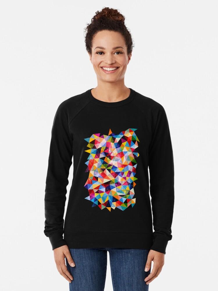 Alternate view of Space Shapes Lightweight Sweatshirt