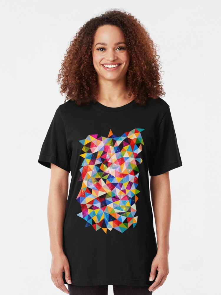Alternate view of Space Shapes Slim Fit T-Shirt