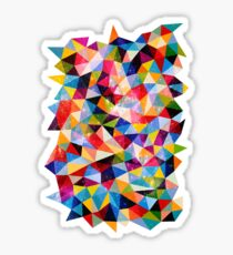 Space Shapes Sticker