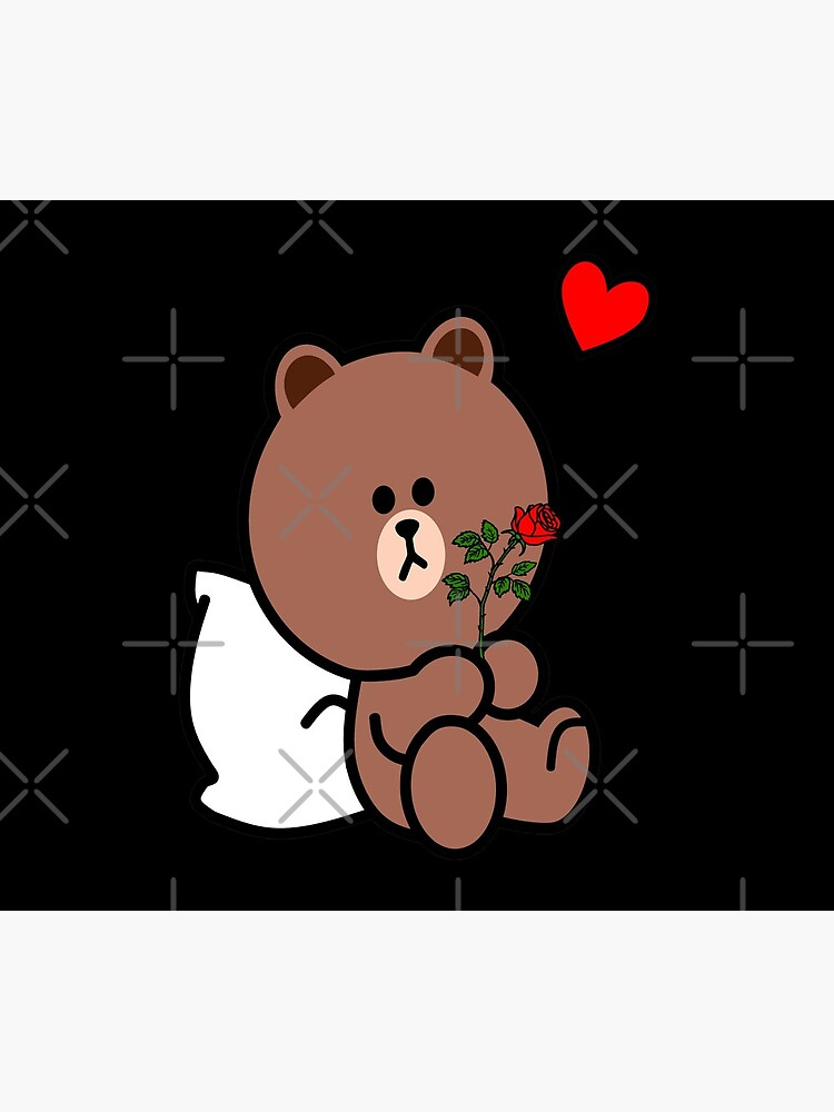 Brown Bear Cony Bunny Rabbit Be My Lover (Him) by tommytbird