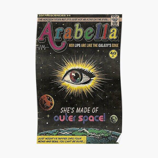 Arabella Monkeys Poster