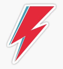 Bowie Lightning Sticker