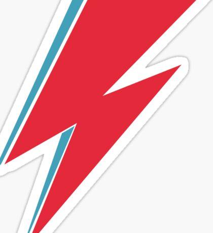 Bowie Lightning Sticker