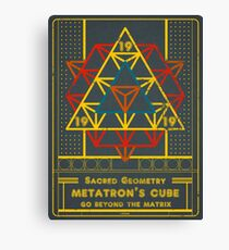SACRED GEOMETRY METATRON MATRIX Canvas Print