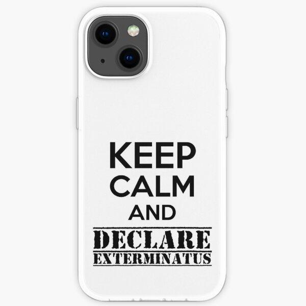 Bleib ruhig und erkläre Exterminatus - Warhammer 40K Imperial Liturgie iPhone Flexible Hülle