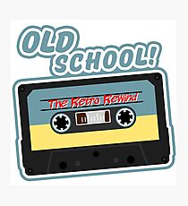 Old School Mix Tape Photographic Print