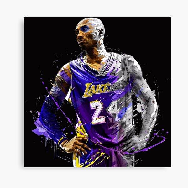 Legend Kobe Bryant NBA RIP Artwork Canvas Print