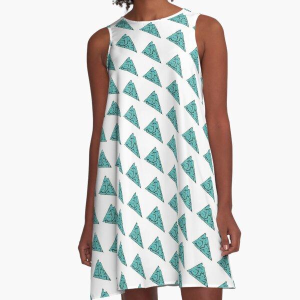 Sierra Style: Turquoise Ore Arrowhead A-Line Dress