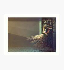 Birdshower Art Print