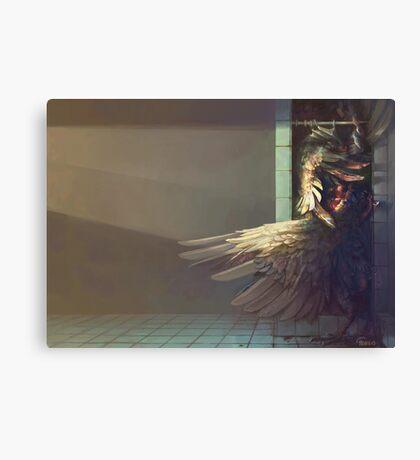 Birdshower Canvas Print