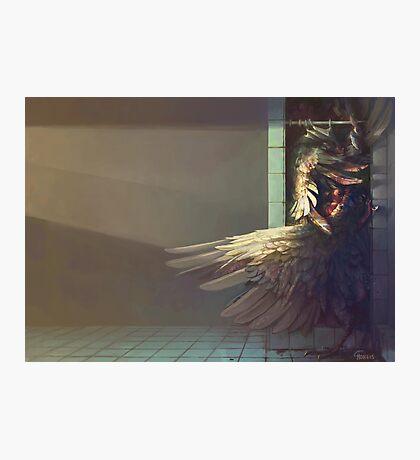 Birdshower Photographic Print
