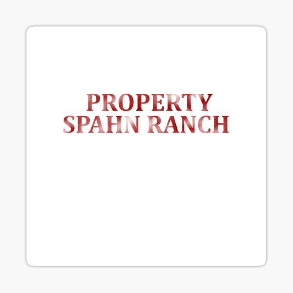 Spahn Ranch,Charles Manson,Charlie Manson,Manson Family Sticker