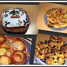 Seasonal Fayre Collage - Food for Christmas by BlueMoonRose