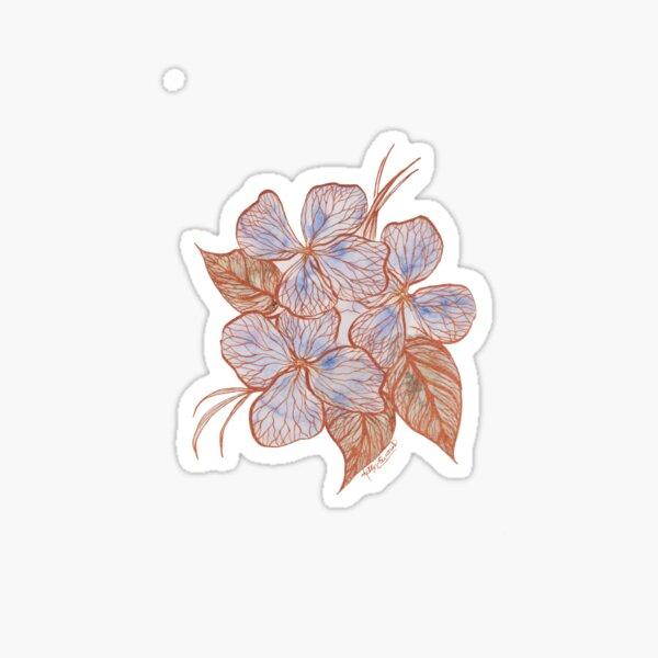 Inked Floral #2 Sticker