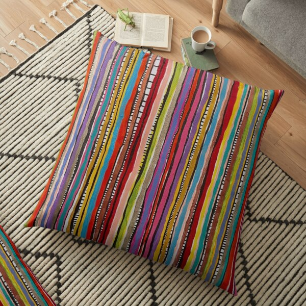 Cut a Rug!  Floor Pillow