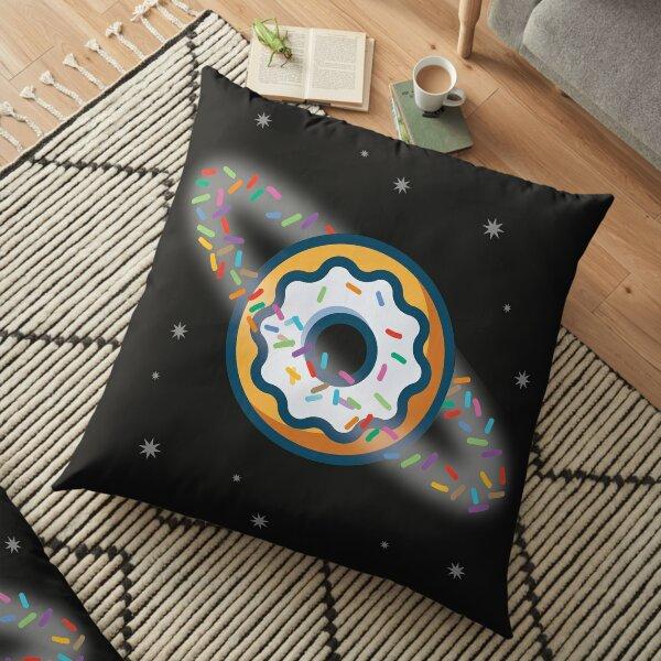 Donut Planet  Floor Pillow