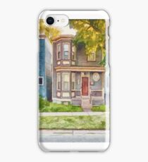 Townhouses Halifax Nova Scotia iPhone Case/Skin