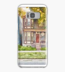 Townhouses Halifax Nova Scotia Samsung Galaxy Case/Skin