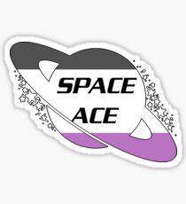 SPACE ACE  Sticker