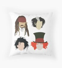Johnny Depp - Character Tribute Throw Pillow