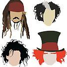 «Johnny Depp - Tributo de personaje» de SarGraphics