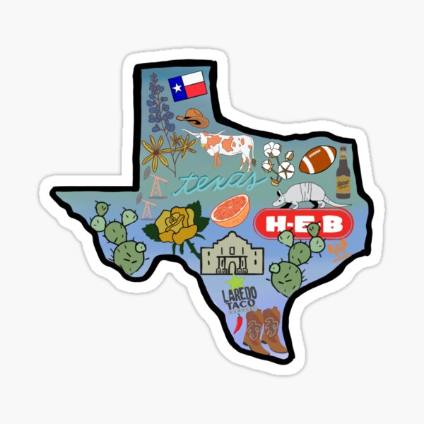 Texas Pride Sticker Sticker