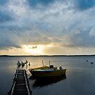 Fisherman's Sunrise - Victoria - Australia by Norman Repacholi