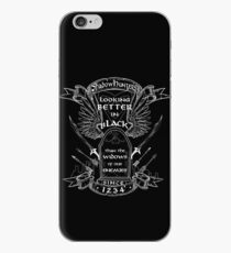 Better in Black iPhone Case
