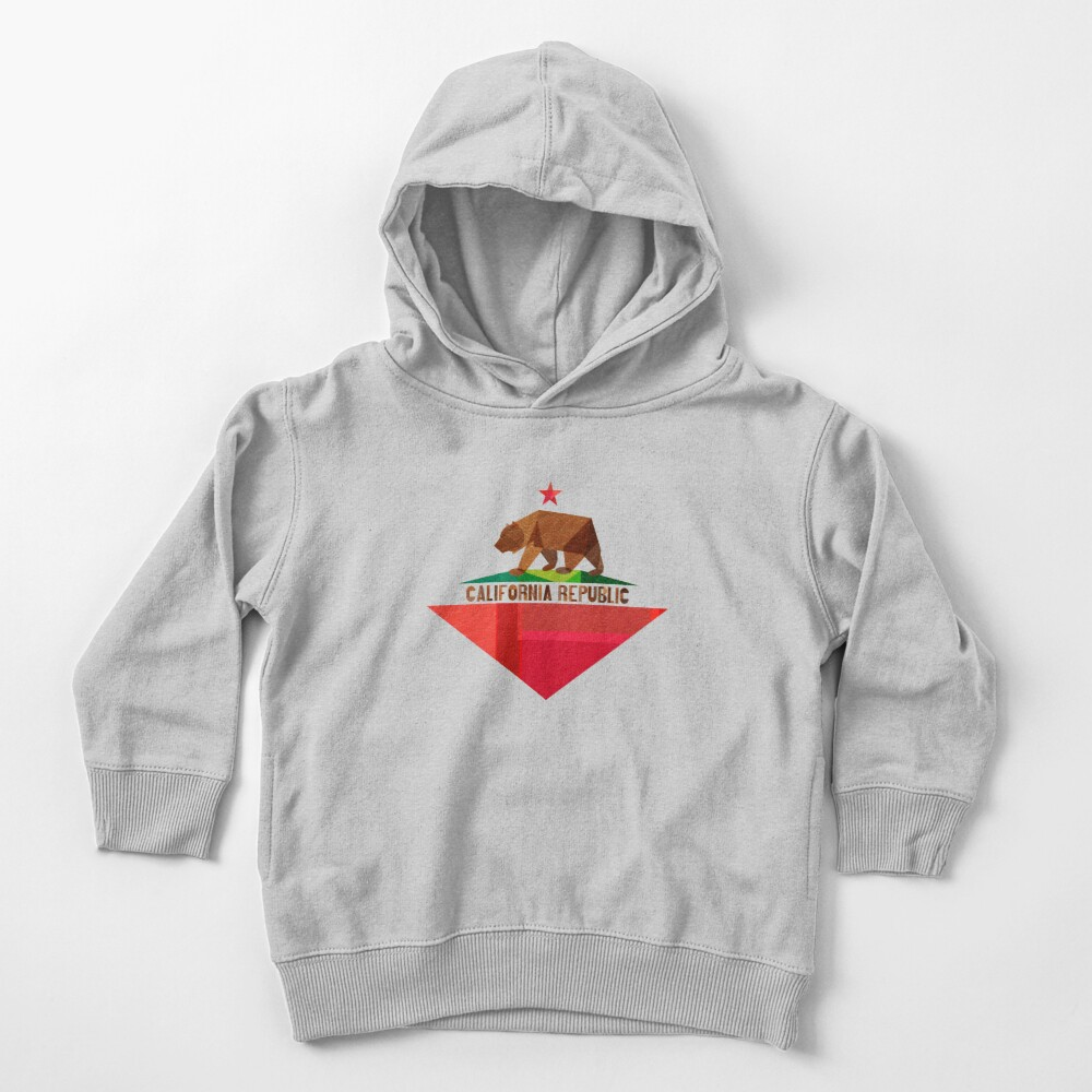 California Toddler Pullover Hoodie