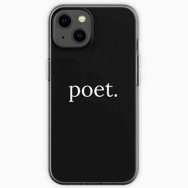 poet. iPhone Soft Case