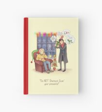 Sherlock's Santa Scan Hardcover Journal