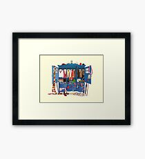The Who-drobe Framed Print