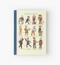 The Twelve Doctors of Christmas Hardcover Journal