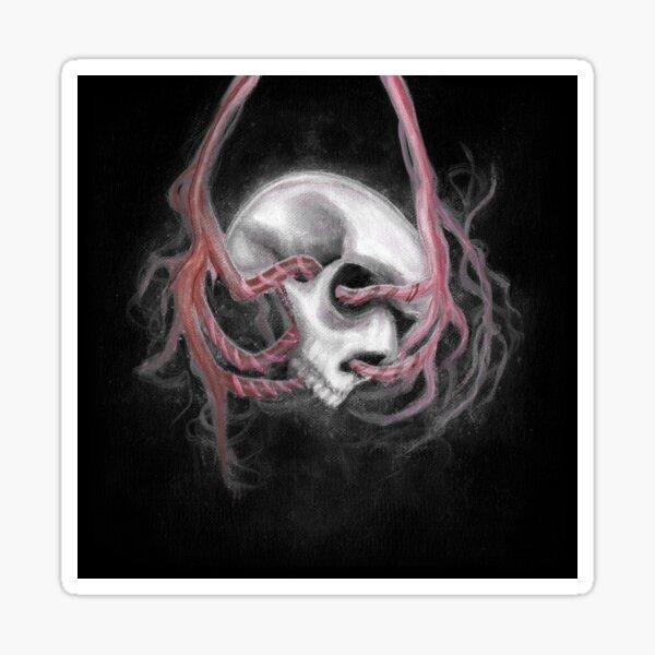 Skull Impression I Sticker