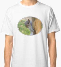 Peek-a-Boo! (Self Portrait in the Eye) Classic T-Shirt