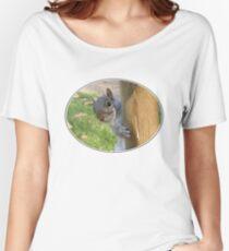 Peek-a-Boo! (Self Portrait in the Eye) Women's Relaxed Fit T-Shirt