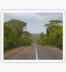 Road through Flinders Chase N.P., Kangaroo Is. Sth Aust. Sticker